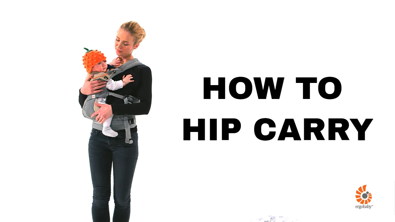 How Do I Hip Carry 360 Baby Carrier Ergobaby Youtube