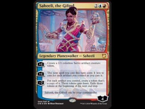 Deck #327   Saheeli, the Gifted