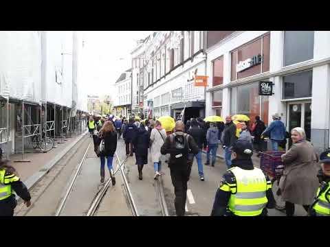 2-5-2021   Amsterdam freedom mars C PNN Live stream Demo#15