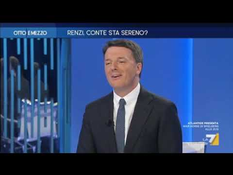 Matteo Renzi ospite a Otto e mezzo (02/10/2019)