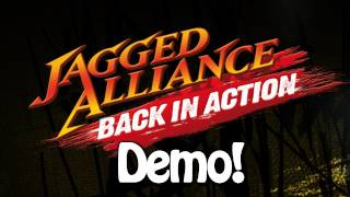 Jagged Alliance Back In Action Demo Gameplay