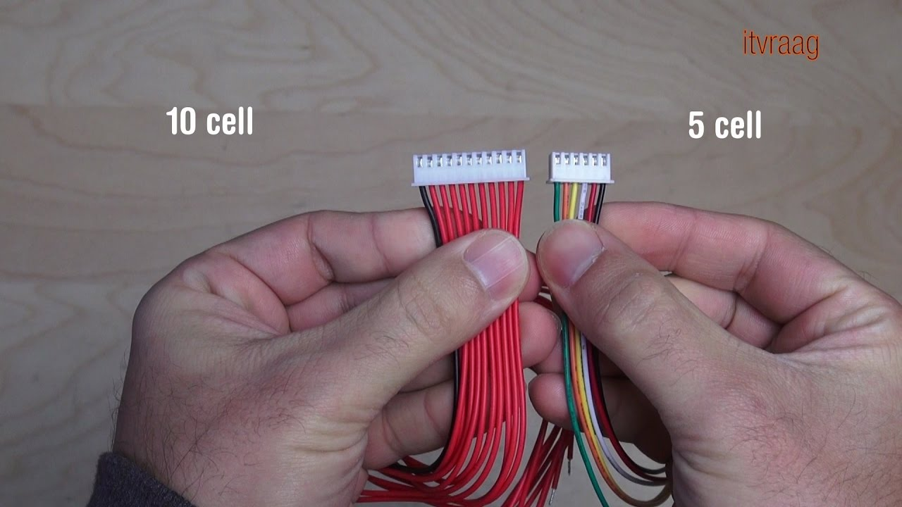 balanced battery wiring diagram balance lead cables for diy battery pack youtube  lead cables for diy battery pack