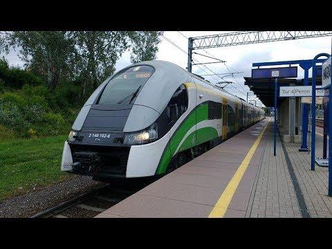 [05.07.17] Przejazd składem EN76-012+010 (KM) na trasie Modlin - Warszawa
