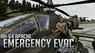ArmA II - RIFM - AH-64 Emergency Evac Scripts (Work In Progress)