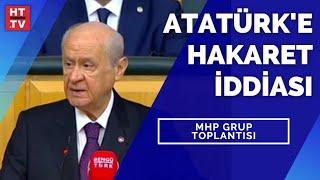 MHP Lideri Devlet Bahçeli partisinin grup toplantısında konuşuyor CANLI