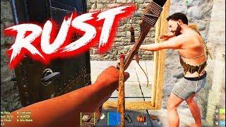 """BATTLE ROYALE PHIÊN BẢN RUST !!! 10 người tranh tài đến chết trong """"Mê cung tử thần"""" - Rust Nonolive"""