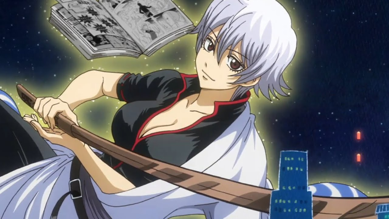 1080p Girl Wallpaper 銀魂 Gintama 2015 Episode 10 275 銀魂 Review Gintoki Has