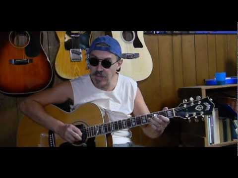 Easy - How to Play Muddy Water Blues - Fun Guitar Lessons  L108