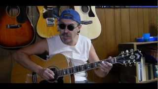 Easy - How to Play Muddy Water Blues - Fun Guitar Lessons  L108 Video