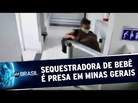 Mulher Que Sequestrou Recém-nascida é Presa Em Minas Gerais | SBT Brasil (26/05/20)
