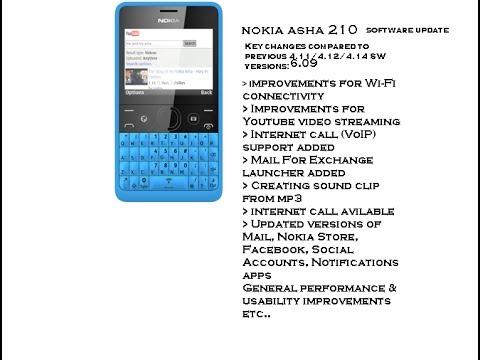 Nokia Asha new software update 2013 installation part 1