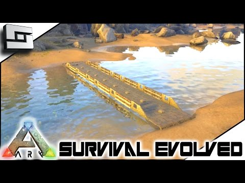 ARK: Survival Evolved - BRIDGE BUILDING! S3E6 ( Gameplay )
