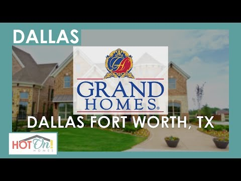 Grand Homes - Breathtaking Homes In The Most Desirable Locations Throughout Dallas/Fort Worth!