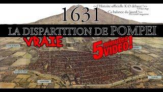 Le MENSONGE de POMPEI détruite en 1631  ENGLISH subs