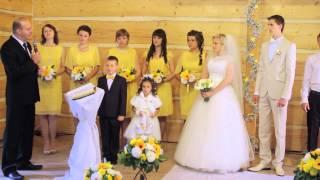 Свадьба Игоря и Кристины (часть 1 - сборы, венчание)