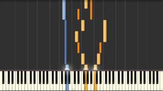 Goldberg Variation No. 21 (J.S. Bach) BWV 988 - Synthesia Piano Tutorial