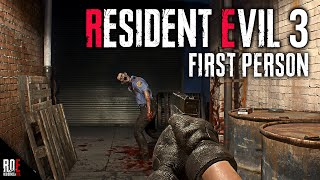 RESIDENT EVIL 3: REMAKE || FIRST PERSON MOD