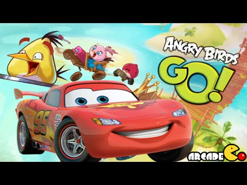 Angry Birds Go: Multiplayer Team Racing, Disney Cars Fast as Lightning Team Racing