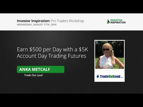 Earn $500 Per Day With A $5K Account Day Trading | Anka Metcalf