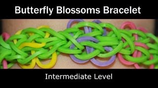 Rainbow Loom® Butterfly Blossoms Bracelet