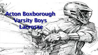 Acton Boxborough Varsity Boys Lacrosse vs Billerica 3/26/18