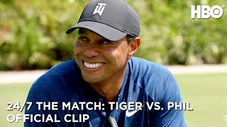 The Side Bets are On | 24/7 The Match: Tiger Woods vs. Phil Mickelson