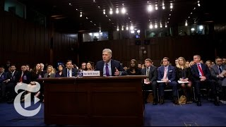 Neil Gorsuch Surpreme Court Confirmation Hearings, Day 3 | The New York Times
