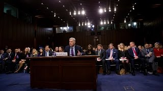 Watch Live: Gorsuch Hearings, Day 3