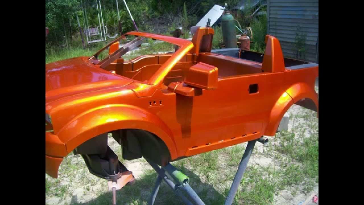 Custom Modified Power Wheels Ford F150 THE BUILD The ...