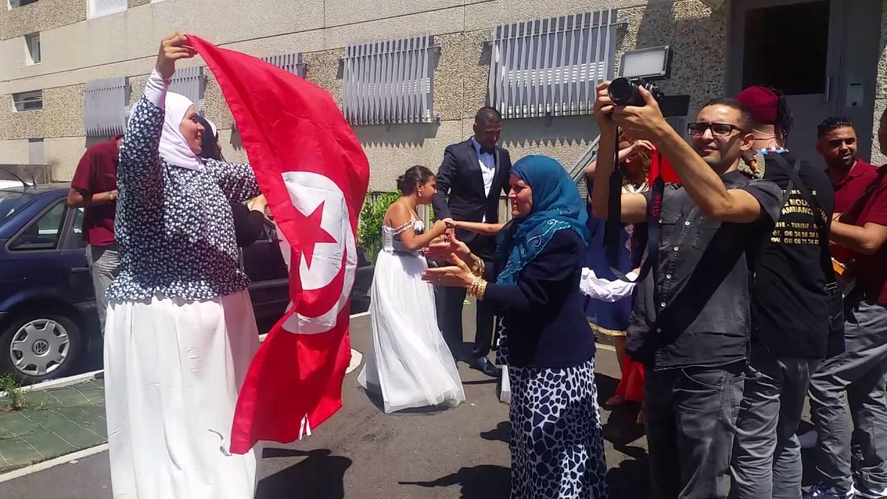 tabal tunsien en france moustapha ambiance mariage tunisien algérien le 9  juillet 2016 , YouTube