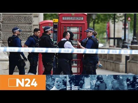 N24 Nachrichten - London: Bewaffneter nahe dem britischen Parlament festgenommen