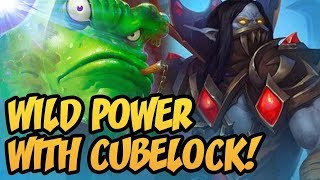 Wild POWER with Cubelock!   Saviors of Uldum   Hearthstone