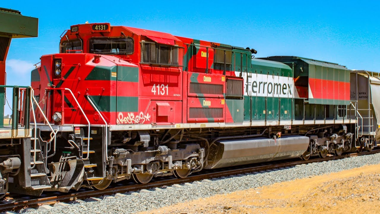 Download Ferromex Trains In Mexicali!