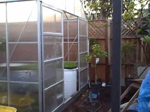 Harbor Freight Tool Visit and 6x8 and 10x12 Greenhouse Updates