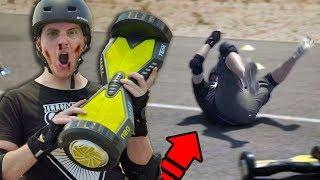 hoverboard death run