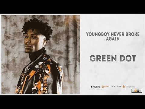 NBA YoungBoy – Green Dot (Clean Audio) (+Lyrics)