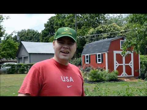 Texas Organic Spring Vegetable Garden Harvest