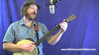 THE CRAWDAD SONG - for Clawhammer Banjo - played by Ryan Spearman