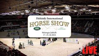 🔴 LIVE | LA | Helsinki International Horse Show | 17.-21.10.2018