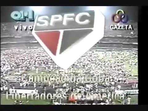 OSMAR SANTOS : São Paulo 1 X 0 Newell's Old Boys - Final Libertadores 1992 Rádio Globo SP