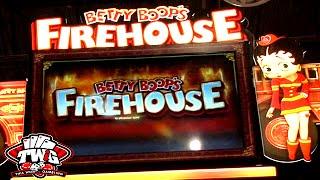 Betty Boop's Firehouse Slot from Bally Tech