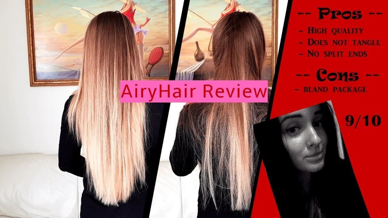 Honest Airyhair Tape In Extensions Review Youtube
