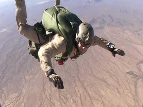 Pararescue PJs Air Force Jump Training PJs Helmet Camera 2006
