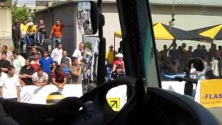 Mercedes-Benz truck drag race