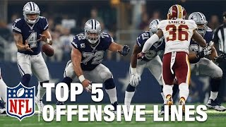 Evaluating the Top 5 Offensive Lines | Next Gen Stats | NFL NOW