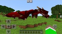 How to Ride a Dragon in Minecraft Pocket Edition (Concept)