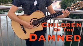 Children Of The Damned [IRON MAIDEN] Acoustic - Classical Fingerstyle guitar by Thomas Zwijsen