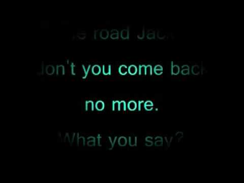 Hit The Road Jack Ray Charles Lyrics Youtube