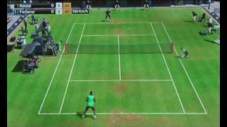 Virtua Tennis 2009 PS3 Me Playing