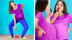 Aku Hamil! Situasi Kehamilan Lucu!